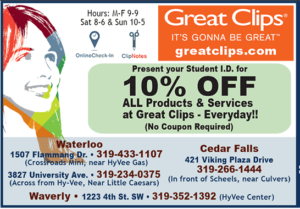 10% off all products & services
