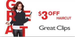 $3 Off Haircut Coupon