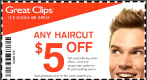 Get $5 Off Any Haircut